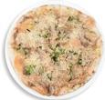 Pizza de Carpaccio de Salmón